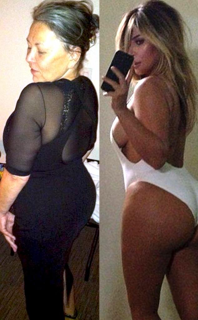Roseanne Barr, Kim Kardashian