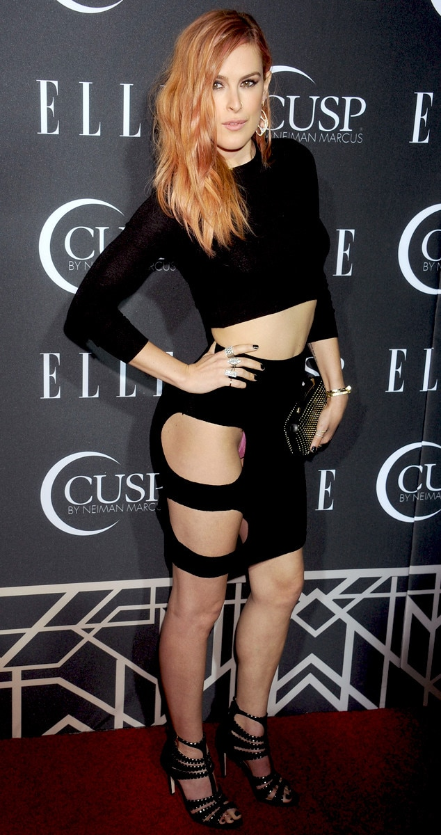 Rumer Willis, Elle Magazine Party