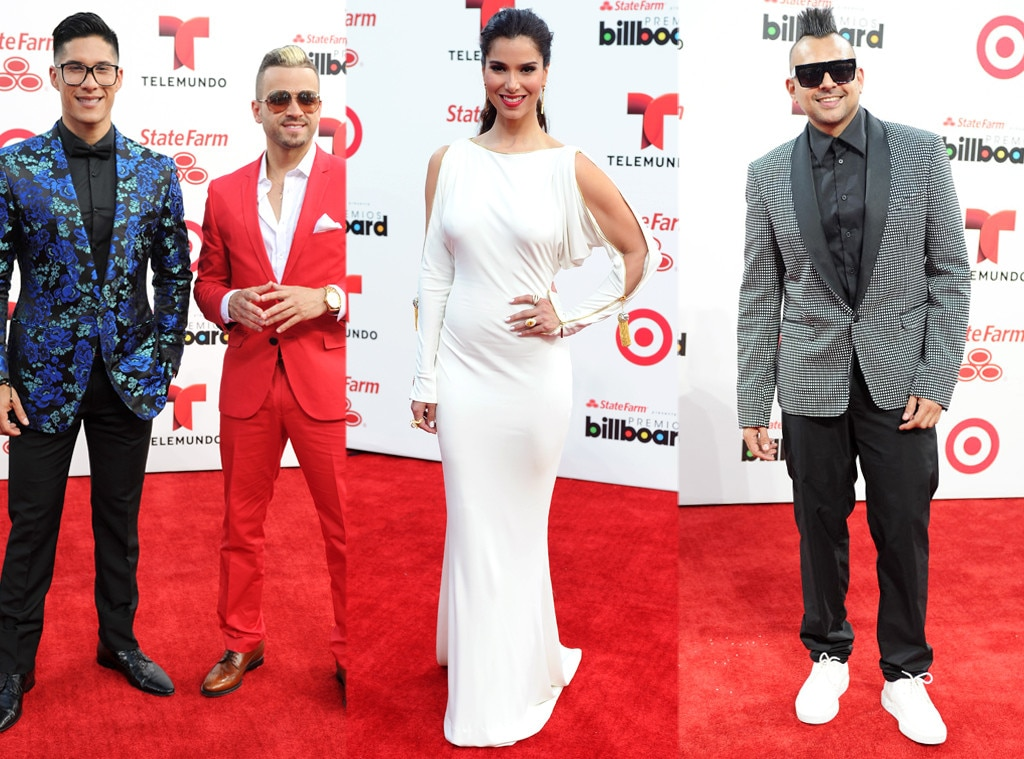 Roselyn Sanchez, Chino and Nacho, Sean Paul, Billboard Latin Music Awards