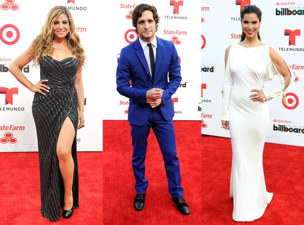 Roselyn Sanchez, Lena Burke, Diego Boneta, Billboard Latin Music Awards