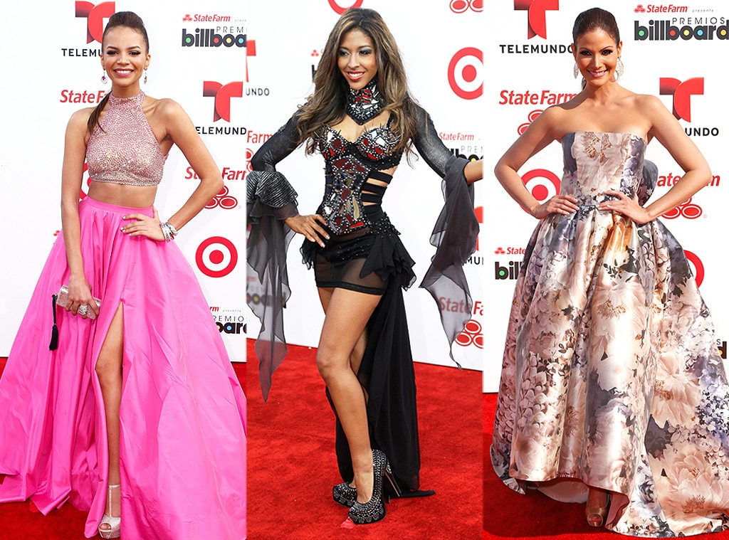 Adassa, Leslie Grace, Cynthia Olavarria, Billboard Latin Music Awards