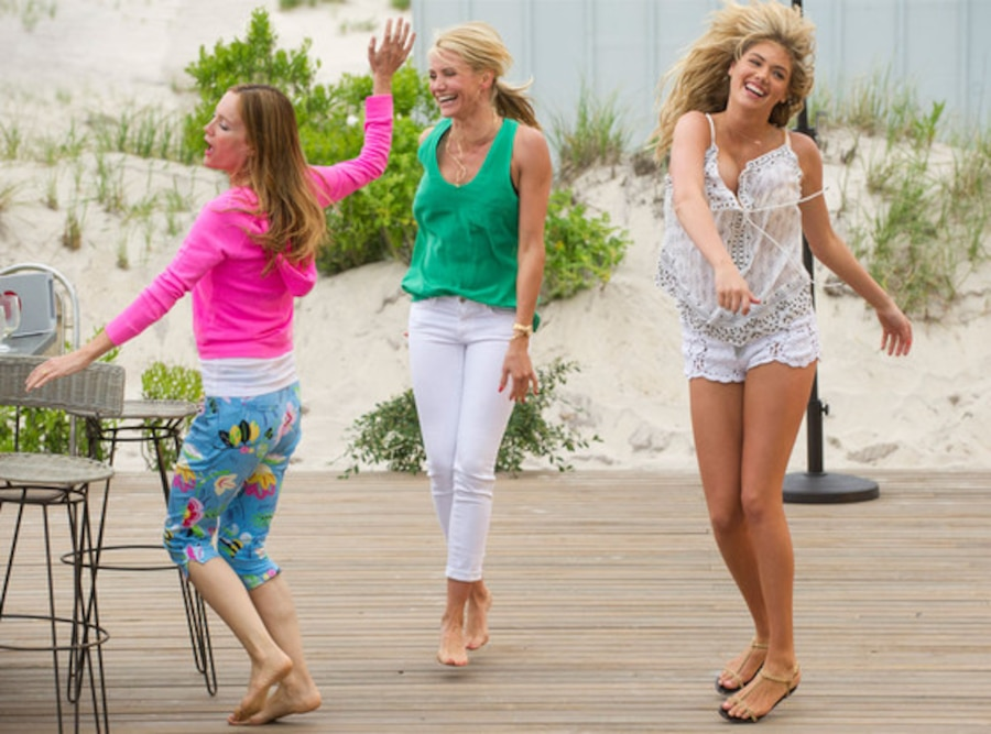 The Other Woman, Leslie Mann, Cameron Diaz, Kate Upton