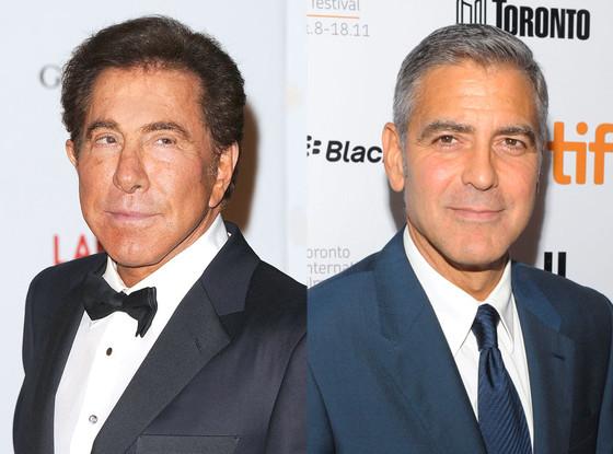 Steve Wynn, George Clooney