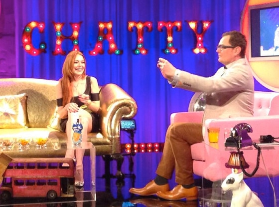 Lindsay Lohan, Alan Carr, Chatty Man