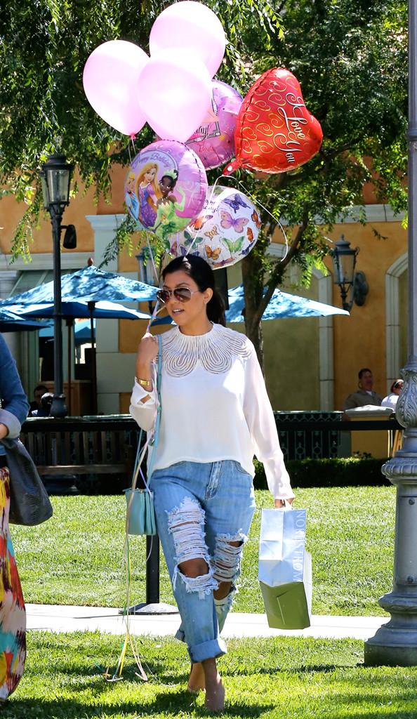 Kourtney Kardashian, Birthday