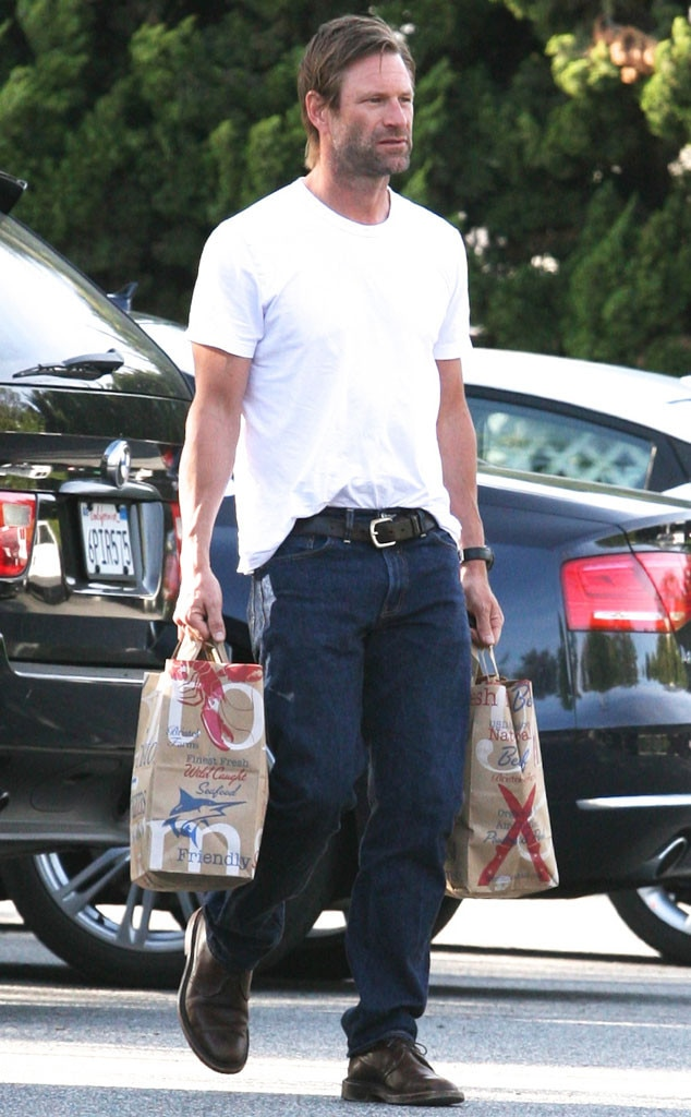 Aaron Eckhart from Celebrities Grocery Shopping | E! News