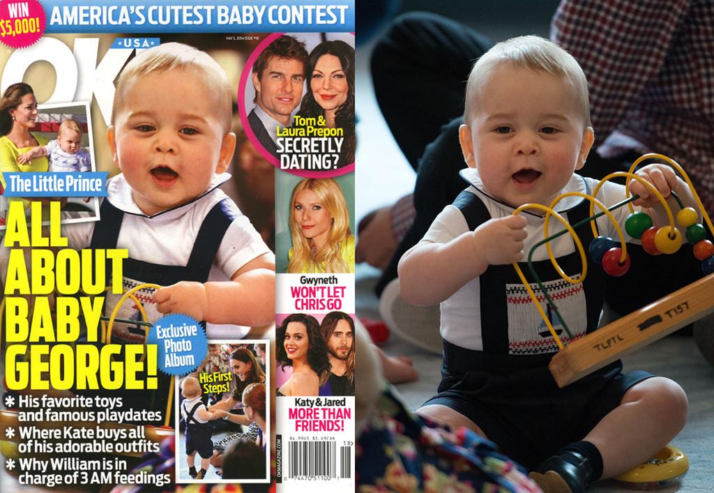Prince George, OK! Magazine