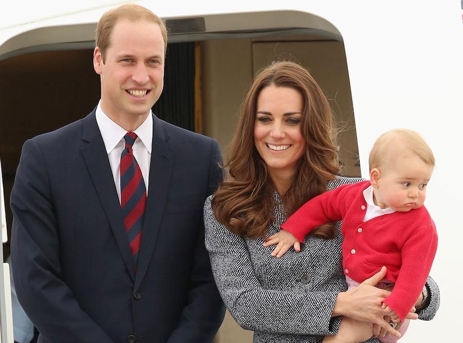 Prince William, Kate Middleton, Prince George