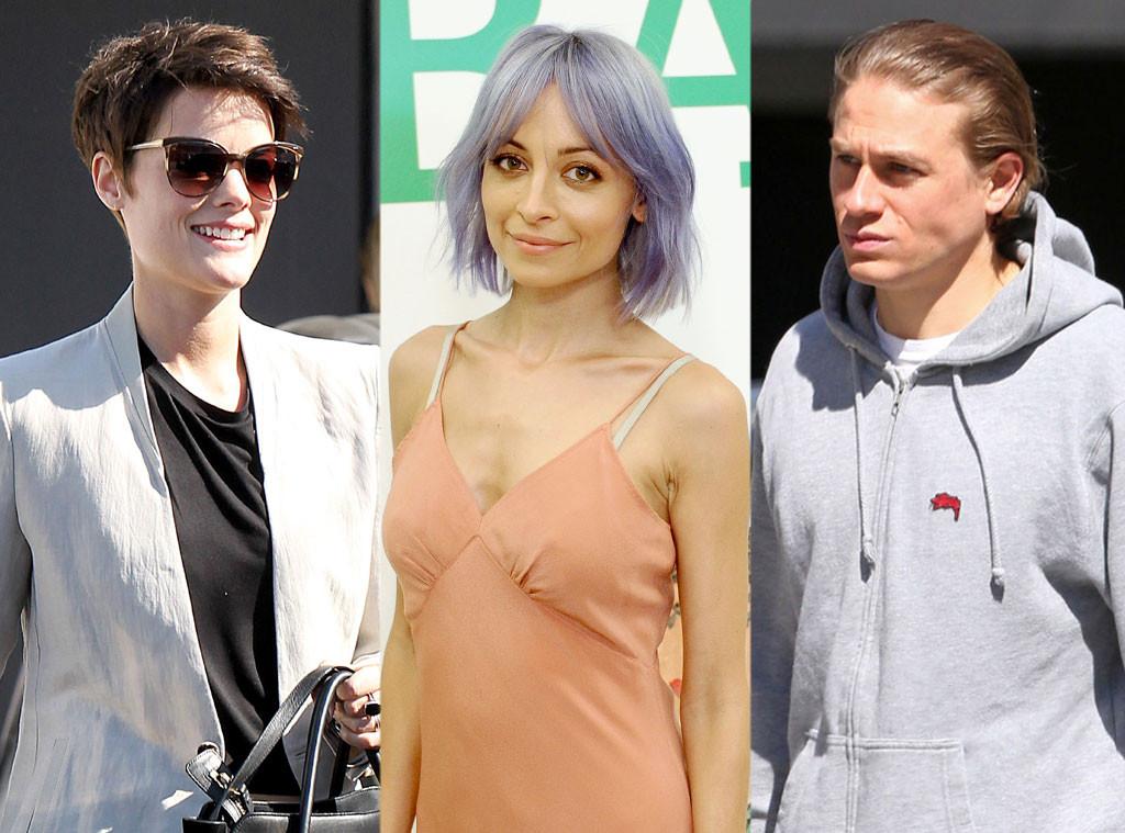 Jaimie Alexander, Nicole Richie, Charlie Hunnam, Hair