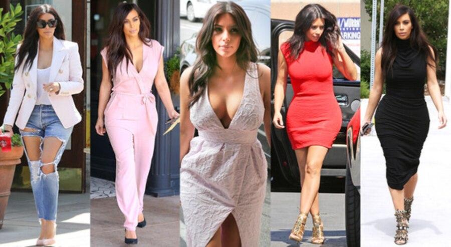 Kim Kardashian, Mommy Style