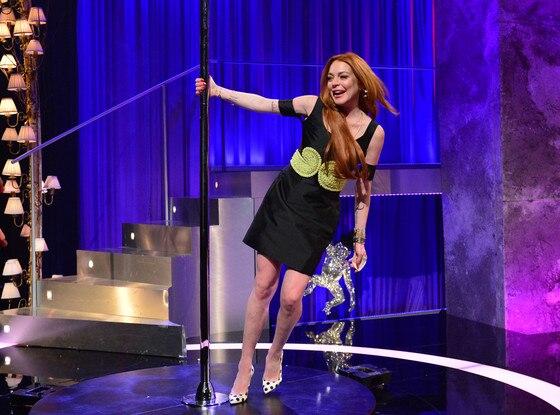 Lindsay Lohan, Chatty Man