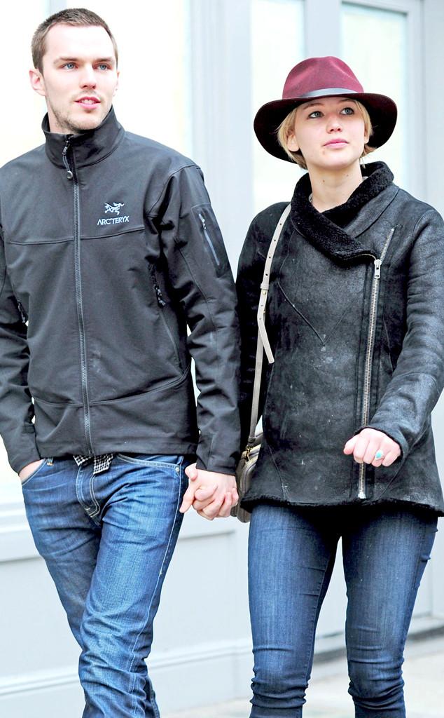 Jennifer Lawrence & Nicholas Hoult in X-Men: First Class