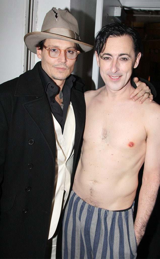 Johnny Depp, Alan Cumming