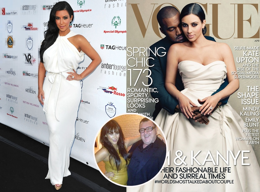 Kim Kardashian, Kanye West, Vogue, LAvin