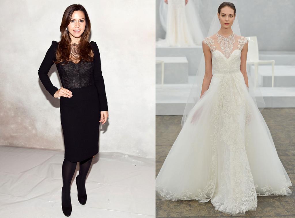 Kim kardashians wedding dress 5 designers who could be creating kim kardashian monique lhuillier junglespirit Images