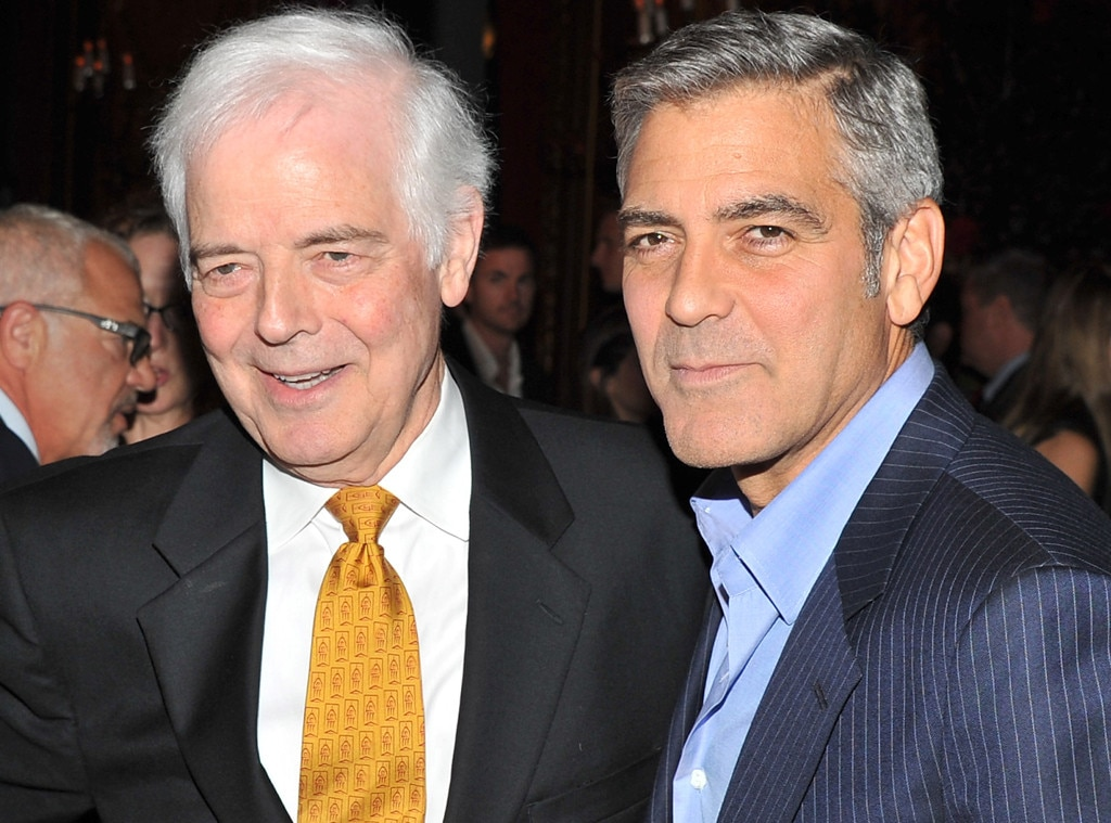 "Amal Clooney Is Already A ""Magnificent Mother,"" According To George Clooney's Dad"