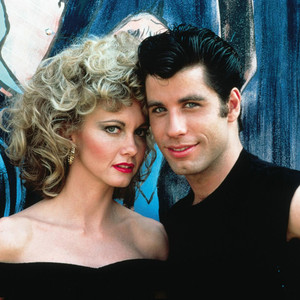 Olivia Newton John, John Travolta, Grease