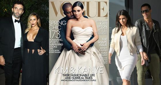 Kim Kardashian, Wedding, Givenchy, Lanvin, Balmain