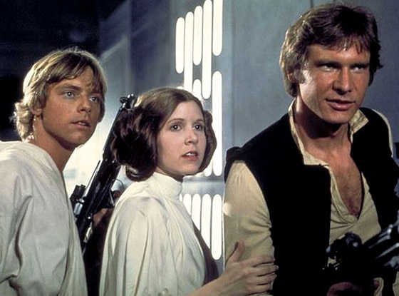 Luke Skywalker, Princess Leia, Han Solo, Star Wars