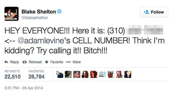 Blake Shelton Twitter