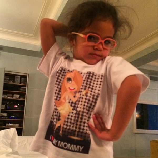 Strike a Pose from Mariah Carey's Twins Are the Cutest! Mariah Carey Instagram