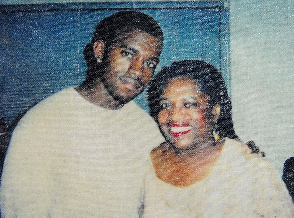 Kanye West, childhood pics