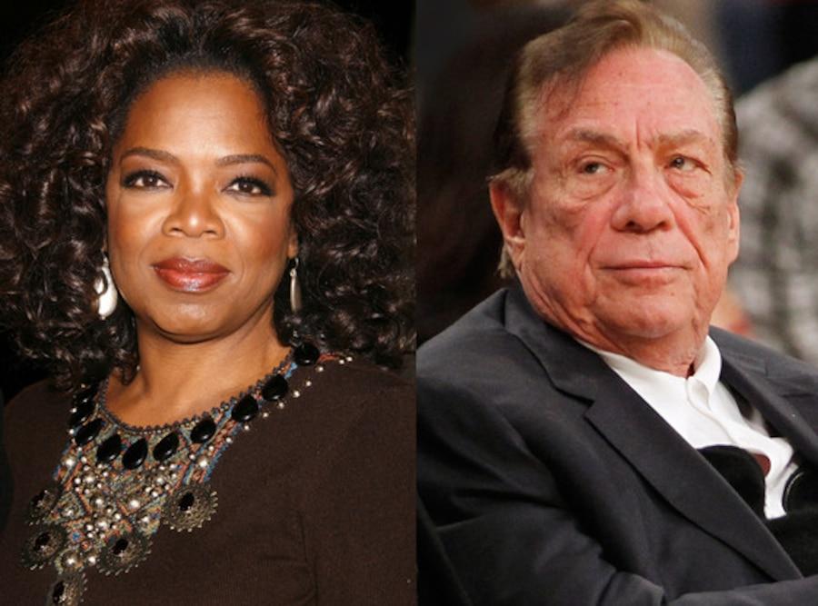 Oprah Winfrey, Donald Sterling