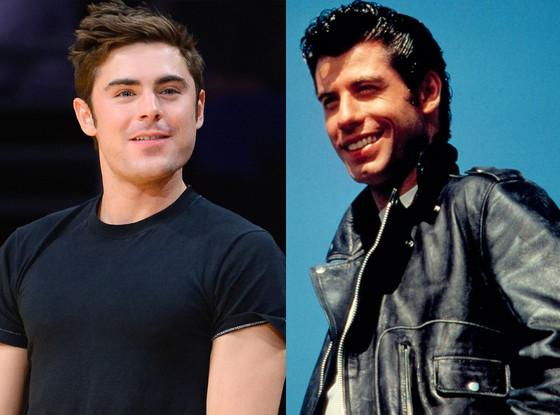 John Travolta, Grease, Zac Efron