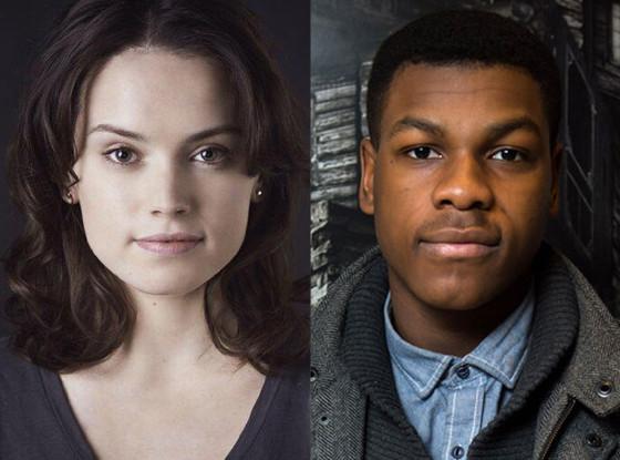 Daisy Ridley, John Boyega, Star Wars