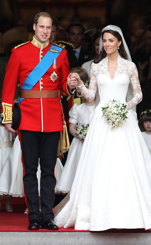 Prince William Kate Middleton Ss Catherine Wedding Iconic Celeb Photos