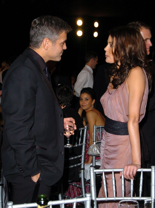 Teri Hatcher, George Clooney