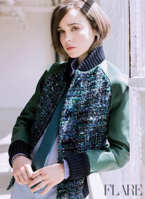 Ellen Page, FLARE