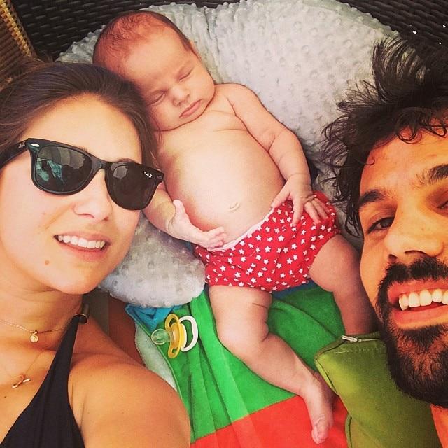 Jessie James Decker and Baby