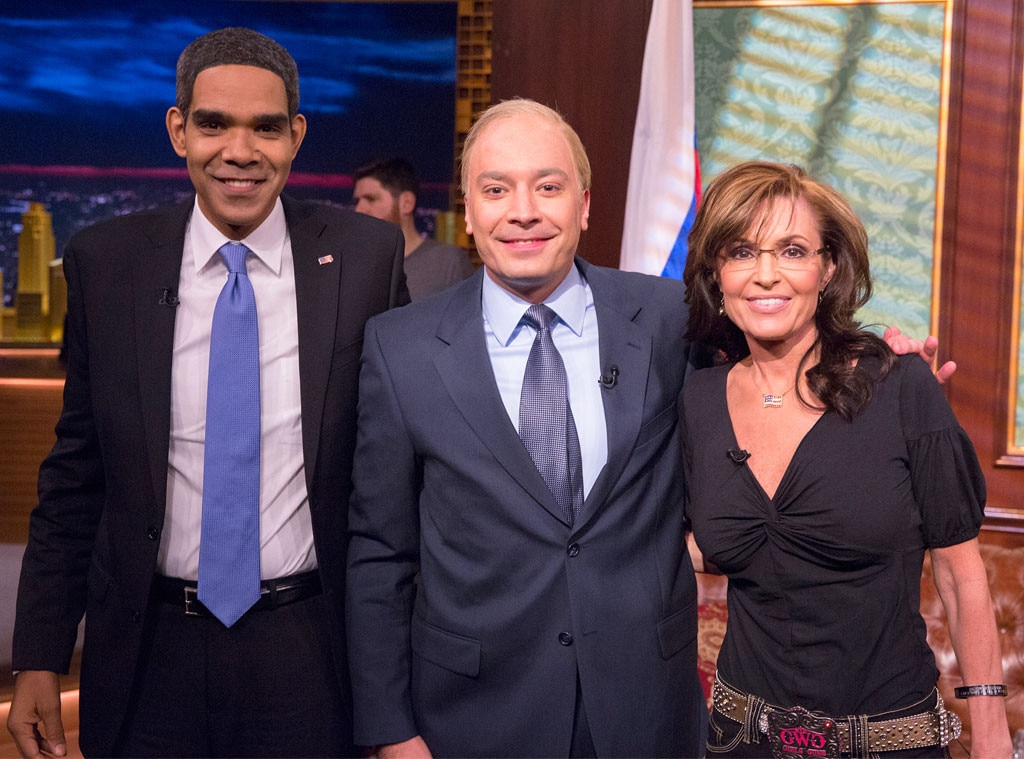 Dion Flynn, Jimmy Fallon, Sarah Palin, Tonight Show