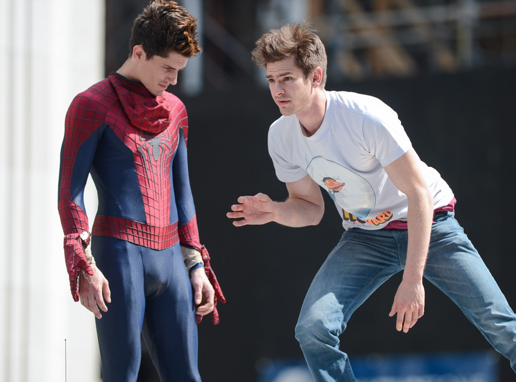 Andrew Garfield, William Spencer, Stunt Doubles