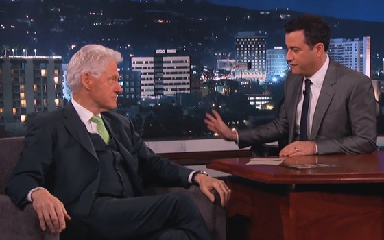 Jimmy Kimmel, Bill Clinton