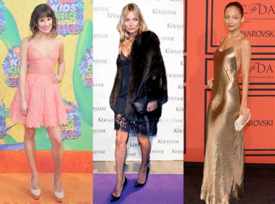 Lingere, Lea Michele, Kate Moss, Nicole Richie