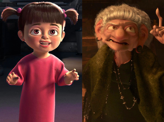 The Witch, Brave, Boo, Monsters, Inc.