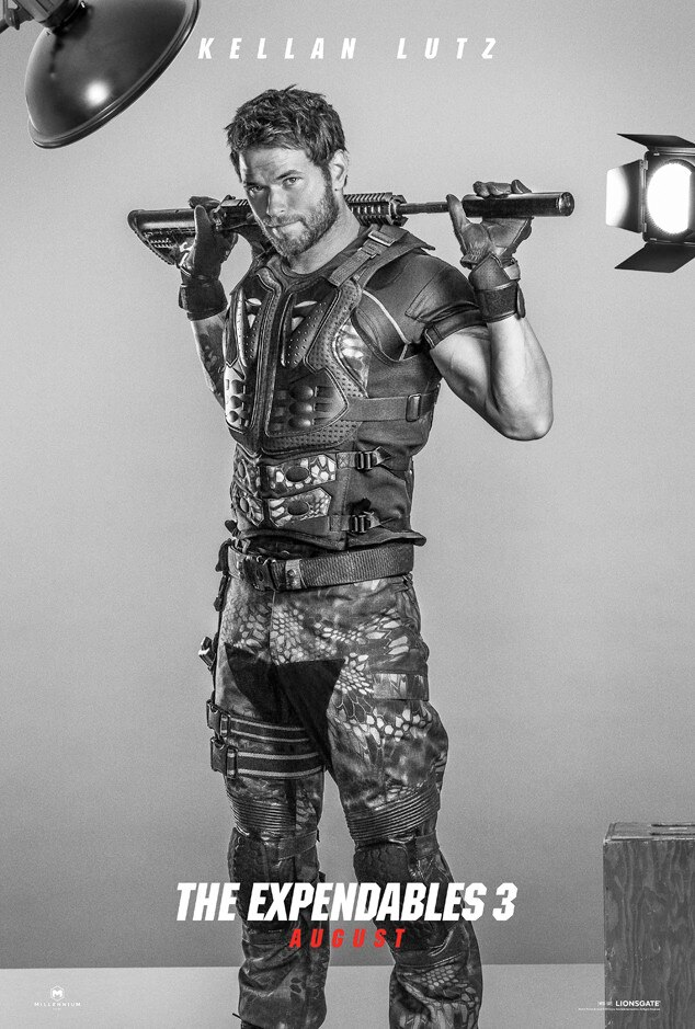 Kellan Lutz, Expendables 3, Poster