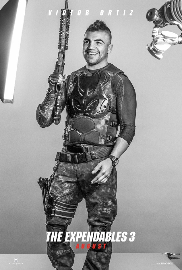 Victor Ortiz, Expendables 3, Poster