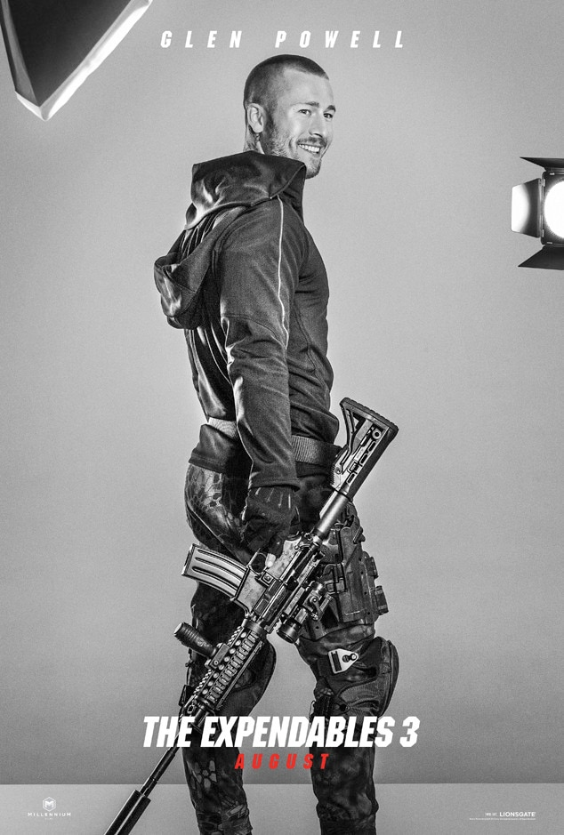 Glen Powell, Expendables 3, Poster