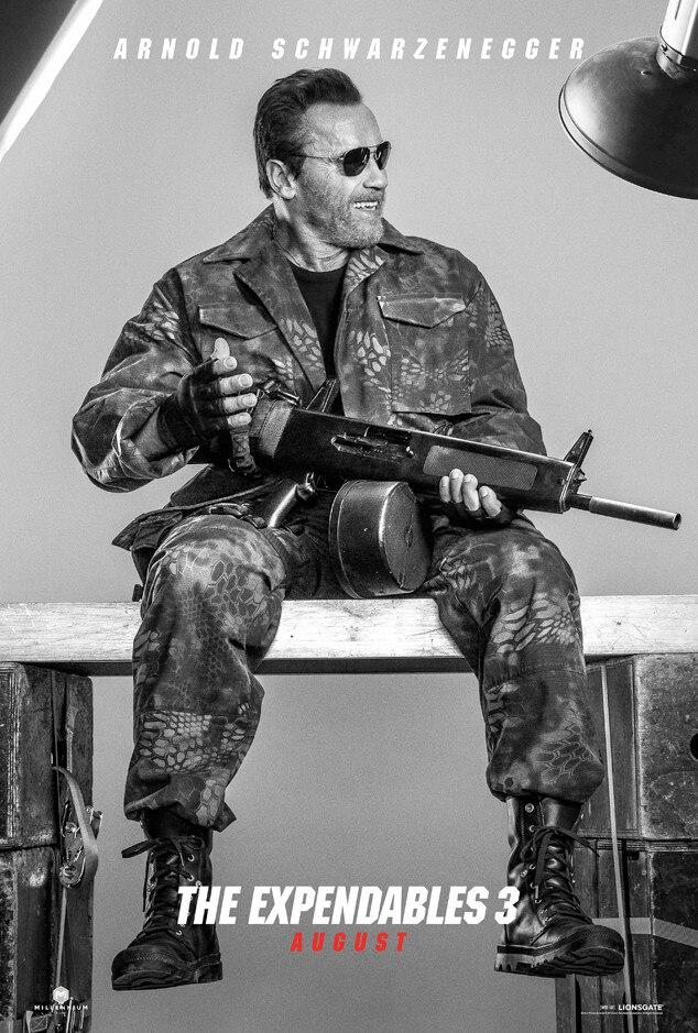 Arnold Schwarzenegger, Expendables 3, Poster