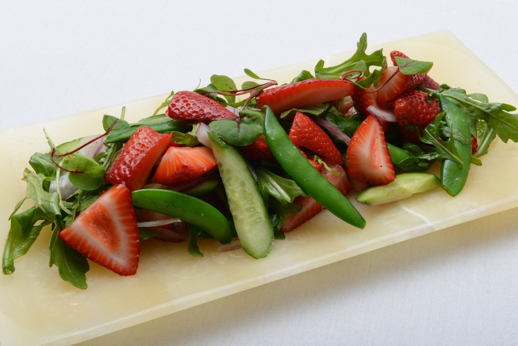 Kentucky Derby, Strawberry Snap Pea Salad