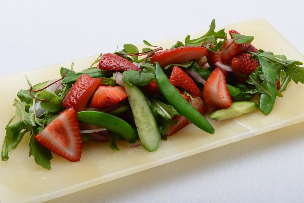 Kentucky Derby, Strawberry Snap Pea Salad