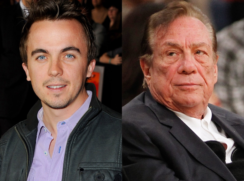Frankie Muniz, Donald Sterling
