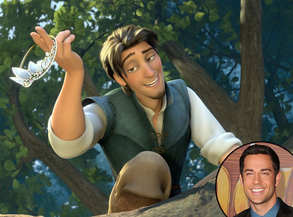 Flynn Ryder, Zachary Levi, Tangled, Disney Voices