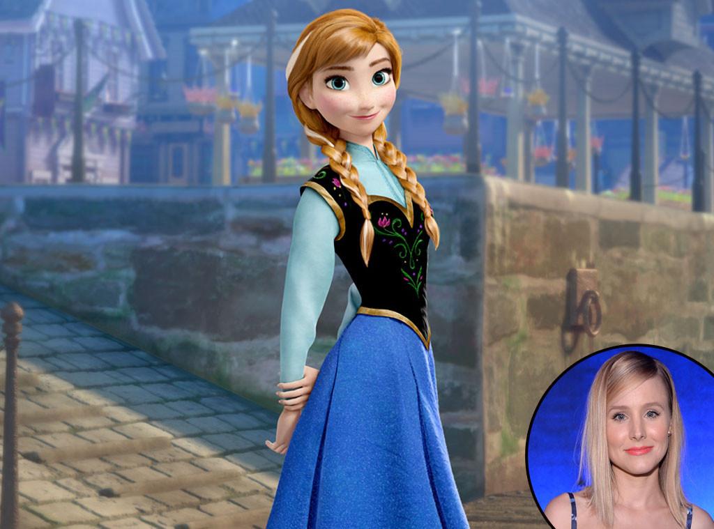 Anna, Kristen Bell, Frozen, Disney Voices