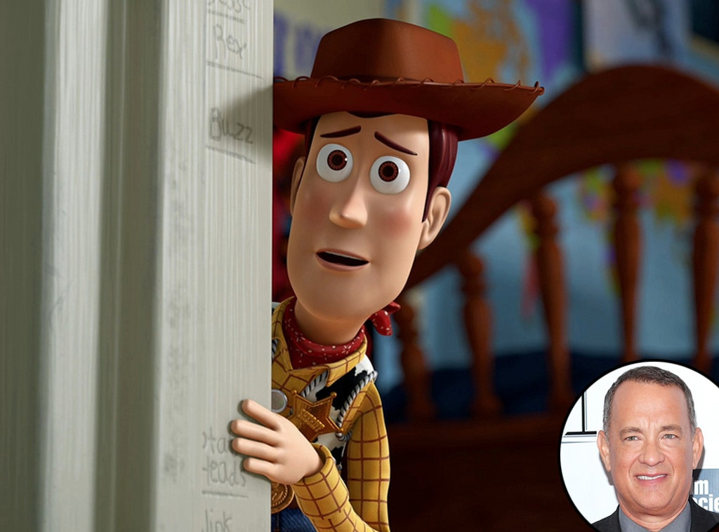 Woody, Toy Story, Tom Hanks, Disney Voices