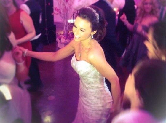Lacey Chabert, Wedding Dress