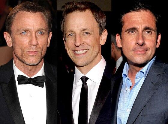 Daniel Craig, Seth Meyers, Steve Carell